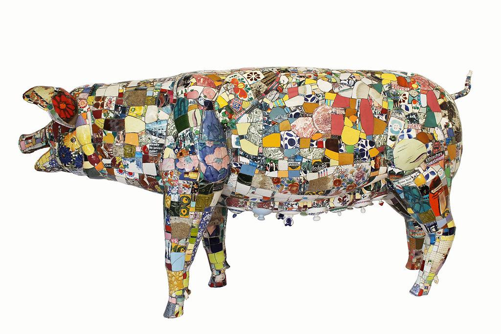 big pig, l 196 cm